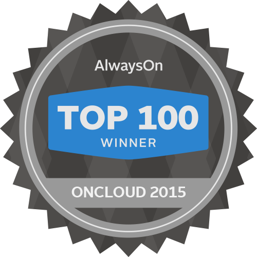 OnCloud 100 Winner by Always On - Domo awards