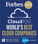 Forbes - Cloud 100 – World's Best Cloud Companies