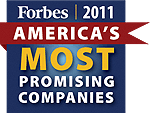 Forbes Most Promising - Domo awards