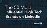 LinkedIn - Top 10 Most Influential High Tech Brands - Domo awards
