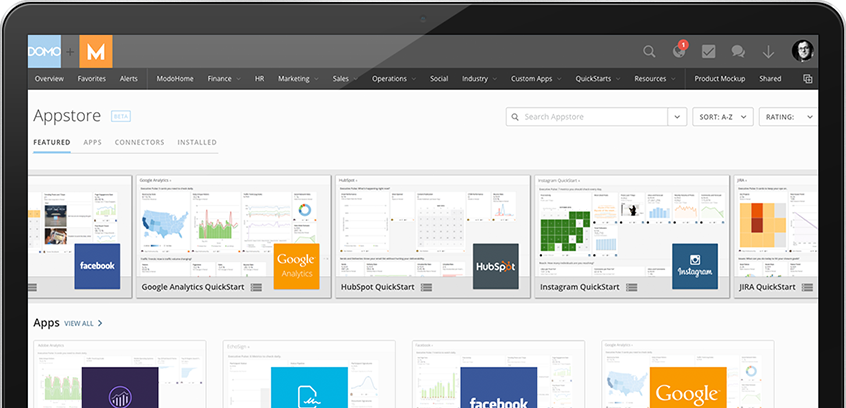 Business Intelligence Apps   Domo