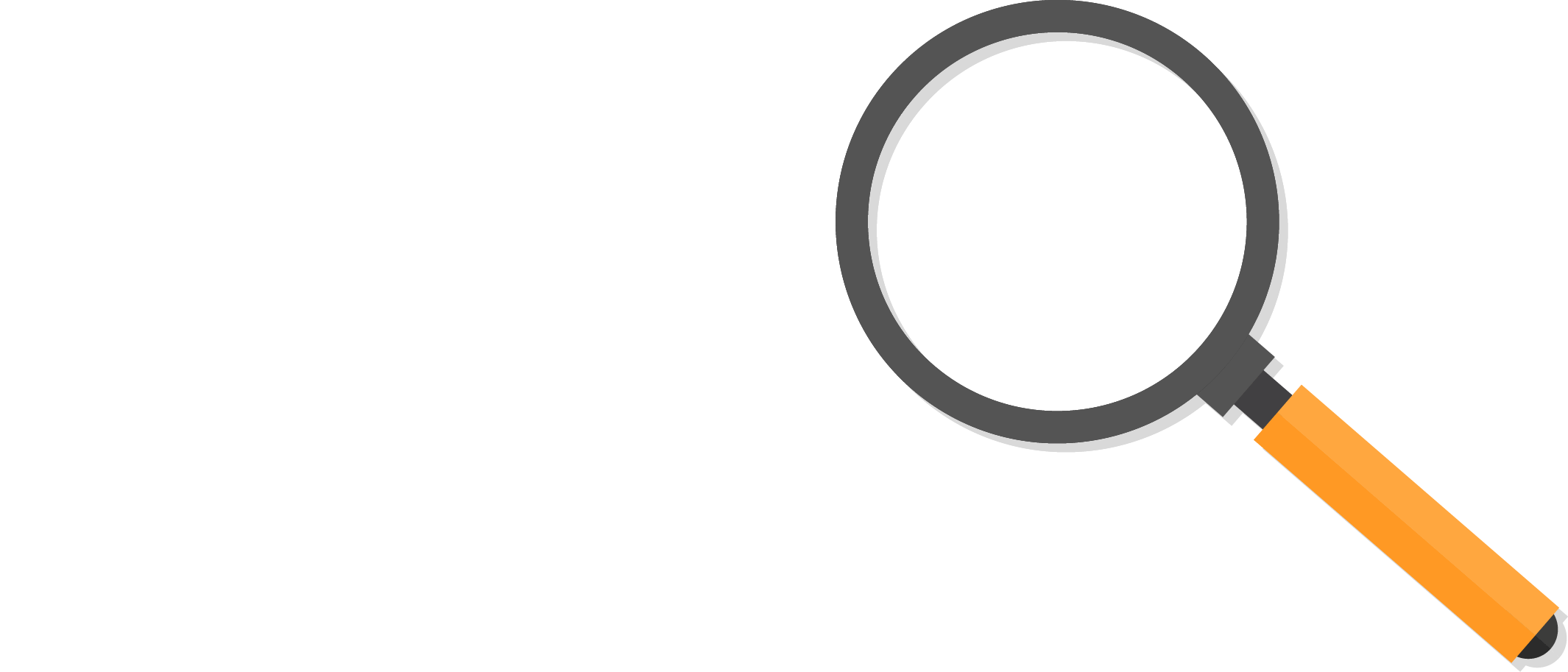 domo logo under magnifying glass