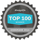 OnDemand 2014 Top 100 Private Companies - Domo awards